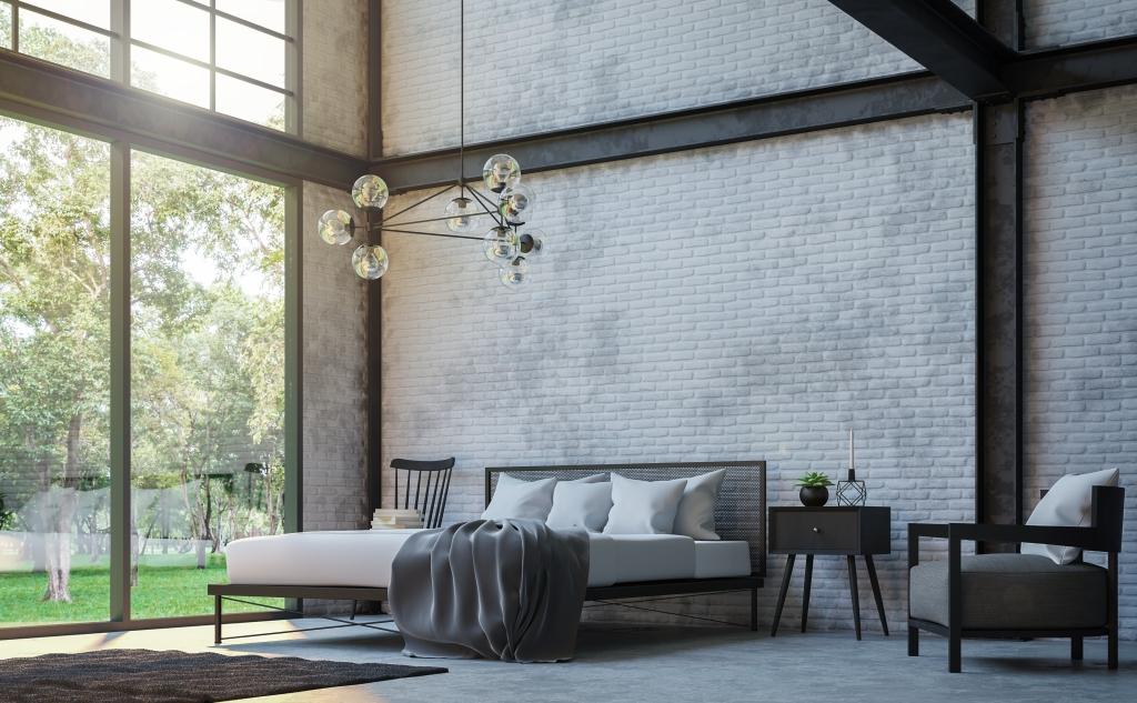 Poutrelle acier décoration intérieur